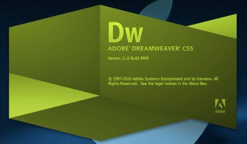 드림위버로 HTML5 개발하기.