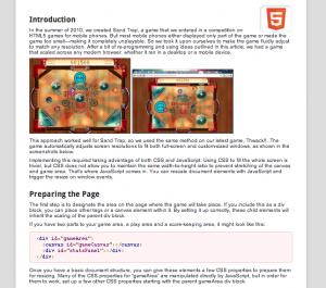 HTML5 Canvas를 활용하는 유용한 사이트 세가지(번역)